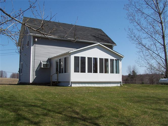 Solid Fill Gable Style Sunroom in Northern Michigan